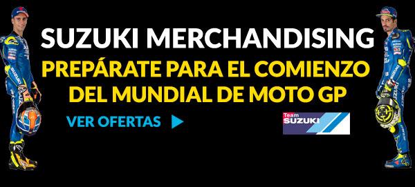 PREPÁRATE PARA EL MUNDIAL MOTO GP SUZUKI MERCHANDISING